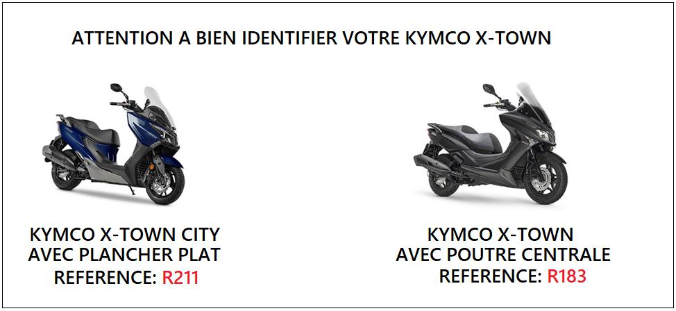 Tablier Kymco x-town